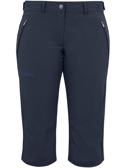 VAUDE Farley II korte broek Dames blauw